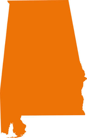 orange county: Alabama Map