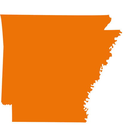 orange county: Arkansas Map