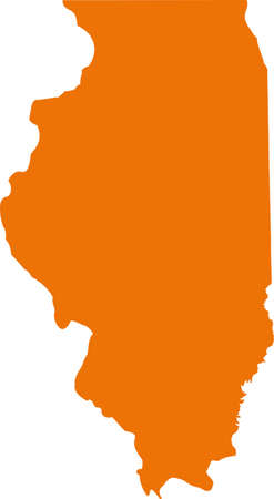 orange county: Illinois Map