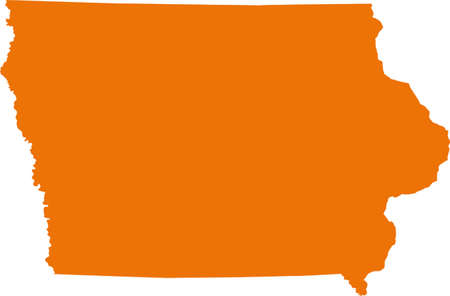 orange county: Iowa Map