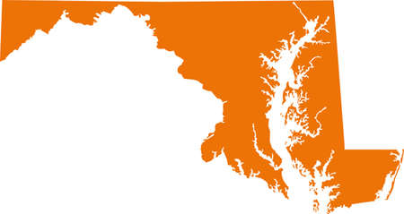 orange county: Maryland Map