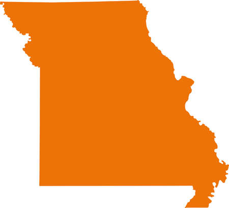 orange county: Missouri Map