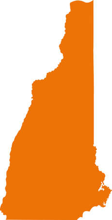orange county: new Hampshire Map