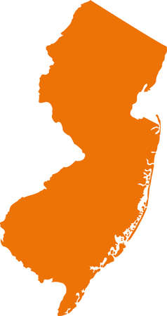 new jersey: New jersey map
