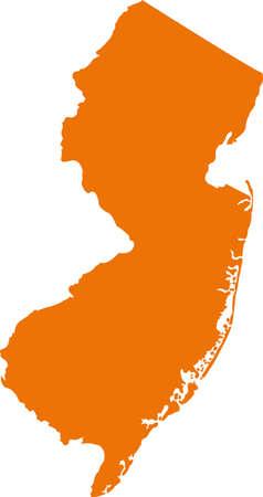 orange county: New jersey map