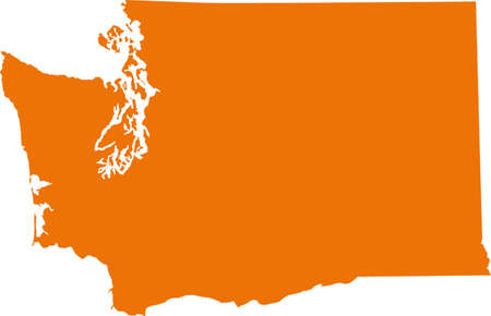 orange county: Washington map