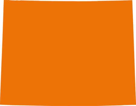 orange county: Wyoming map
