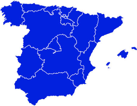 graphical chart: Spain map