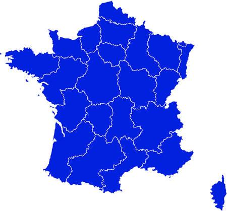 vectorrn: map of france