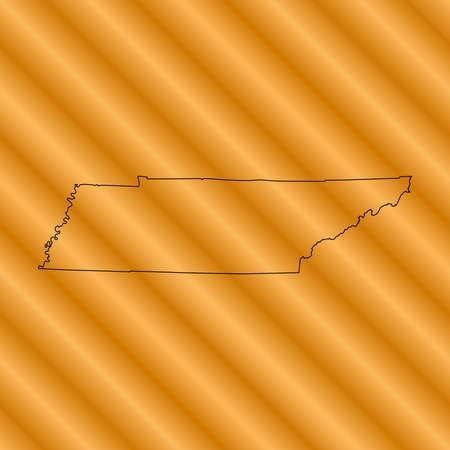 tennessee: mapa de Tennessee