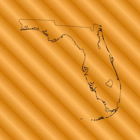 orange county: Florida Map