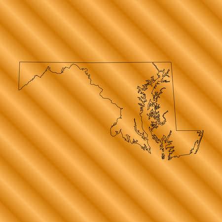 maryland: Maryland Map