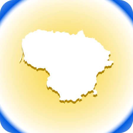 リトアニア の地図