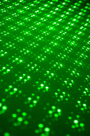 laser lights: Green laser lights , technological abstract background Stock Photo