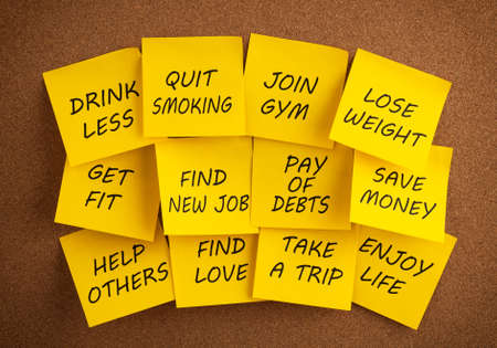 new message: New Year s Resolutions
