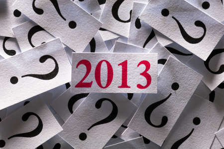 What will happen in 2013 , too many questions for new year photo