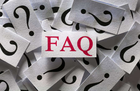 asking question: Frequently asked questions , too many question marks