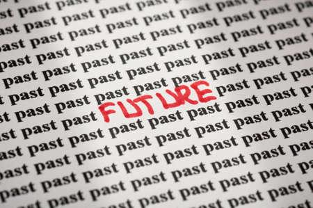 Future in past Stok Fotoğraf