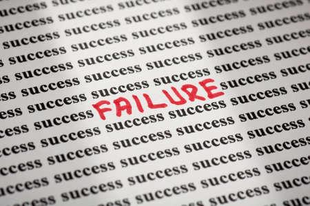 Failure in success Stok Fotoğraf