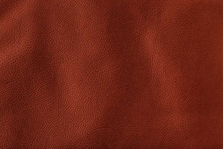 Natural brown leather background