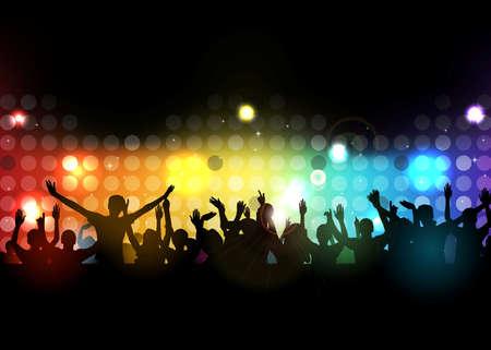 人々 が踊るクラブ パーティー 写真素材