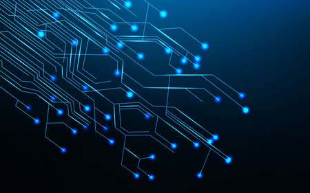 micro chip: Abstract circuit board background
