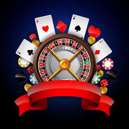 Gambling with casino element