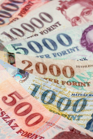 These are the hungarian banknotes, this is the forint