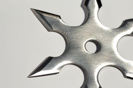 shuriken: Se trata de un shuriken, utilizado por peleador japon�s (ninja).