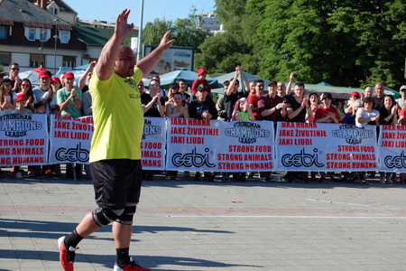 strongest: Ervin Katona is one of the strongest men in the world