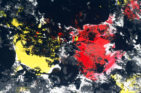 tempera: The abstract background is painted with tempera. Stock Photo