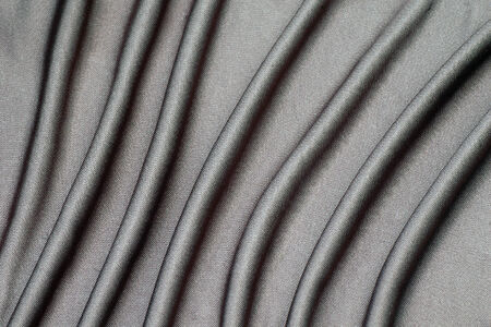 creasy: The creasy gray fabric is texture background.