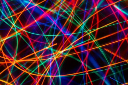 Abstract colorful blurry lines as pattern background. Stock Photo