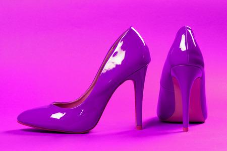 Sexy purple shoes