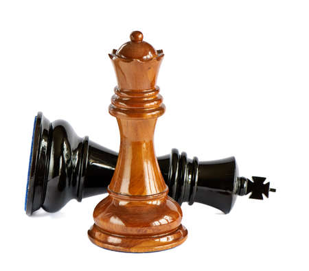 chess pawn: Chess isolated on white background
