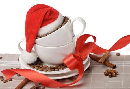 Christmas coffee  photo