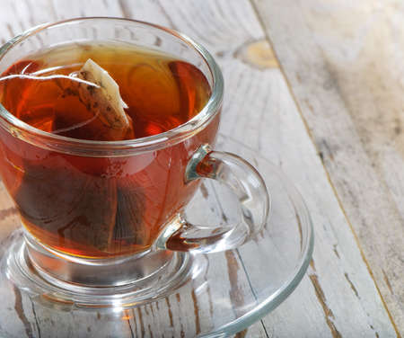 Teabag in the cup Stock Photo - 12187783