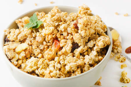 raisin: Healthy breakfast - muesli