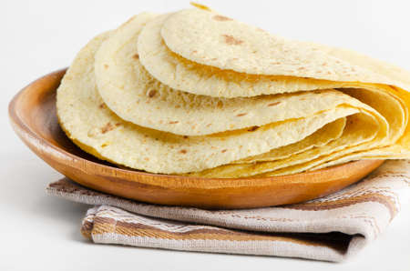 flour and corn tortillas