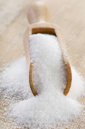 granulated: Sugar .Selective focus