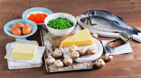 비타민 D의 건강 식품 소스