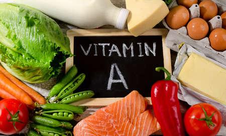 productos naturales: Productos naturales ricos en vitamina A. La vista eating.Top saludable