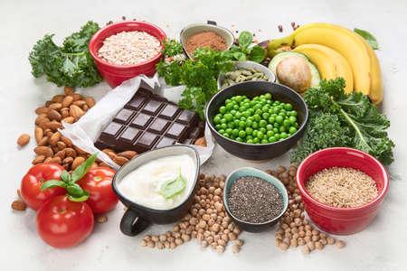 Food containing magnesium.