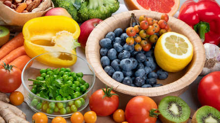 Foods high in vitamin C. Food rich in antioxidant, fiber, carbohydrates. Boost immune system and brain; balances cholesterol; promotes healthy heart.