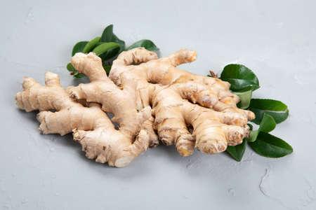 Fresh ginger root Foto de archivo