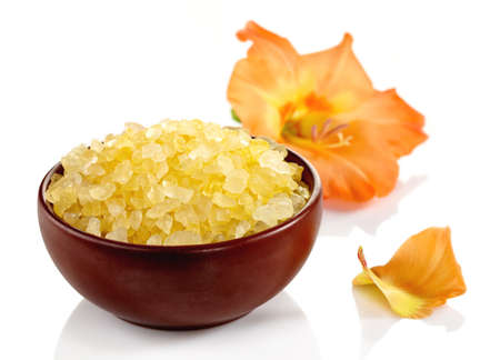stone bowl: Bowl of bath salts