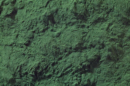 Bakcground of spirulina algae powder