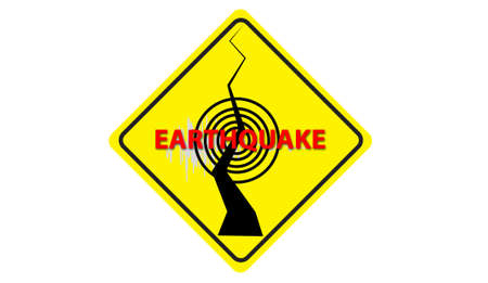 earthquake warning Symbol Stock Photo - 13782110