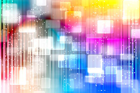 colorfull bokeh abstract light background illustration Stock Photo