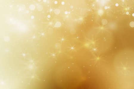 glint: bonito fondo abstracto con las luces de bokeh y estrellas Foto de archivo